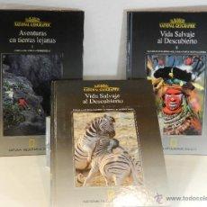 Libros de segunda mano: EL MUNDO DE NATIONAL GEOGRAPHIC - NATIONAL GEOGRAPHIC SOCIETY - 3 LIBROS. Lote 47379997