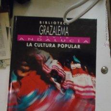Libros de segunda mano: CADIZ - BIBLIOTECA GRAZALEMA VIVIR ANDALUCIA , LA CULTURA POPULAR GRAN FORMATO TAPAS DURAS 103 PAG. Lote 48354063