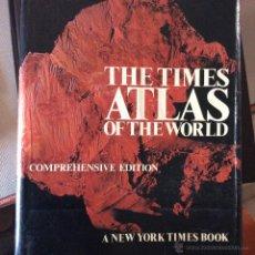 Libros de segunda mano: THE TIMES ATLAS OF THE WORLD COMPREHENSIVE EDITION, A NEW YORK TIMES BOOK. Lote 48430966