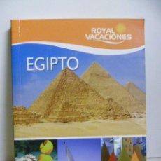 Livros em segunda mão: ROYAL VACACIONES - EGIPTO - 2009. Lote 48479114