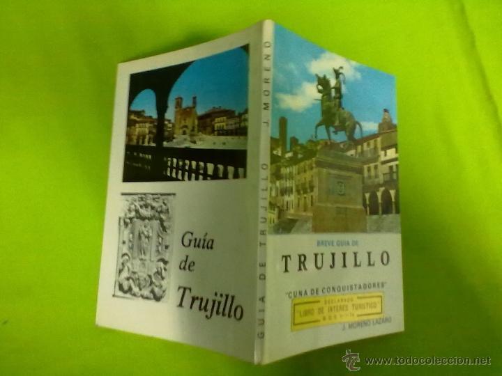 J. MORENO LAZARO BREVE GUIA DE TRUJILLO 1963 (Libros de Segunda Mano - Geografía y Viajes)