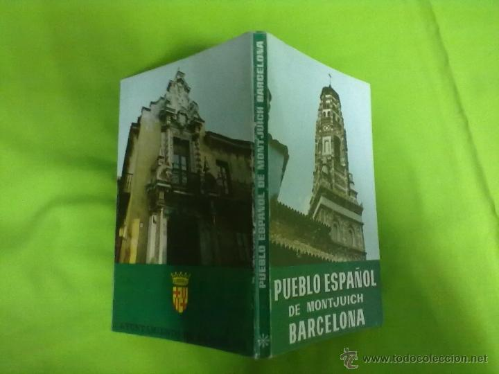 PUEBLO ESPAÑOL DE MONTJUICH BARCELONA 1965 (Libros de Segunda Mano - Geografía y Viajes)