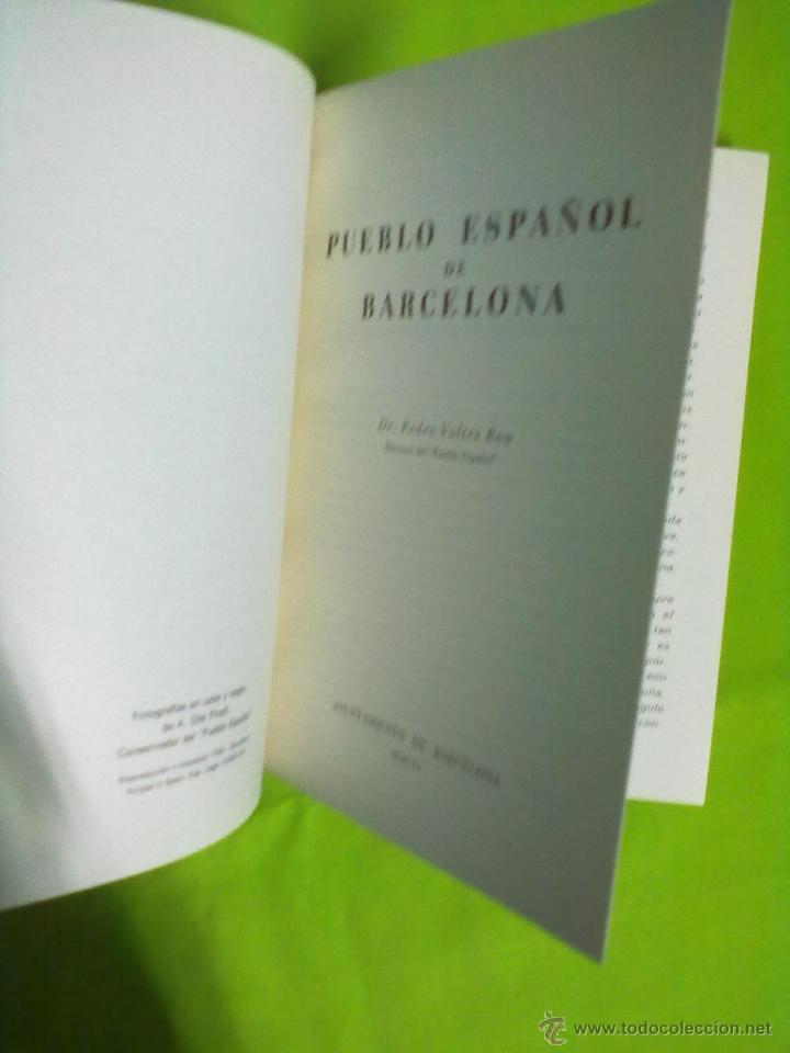 Libros de segunda mano: PUEBLO ESPAÑOL DE MONTJUICH BARCELONA 1965 - Foto 2 - 48491905