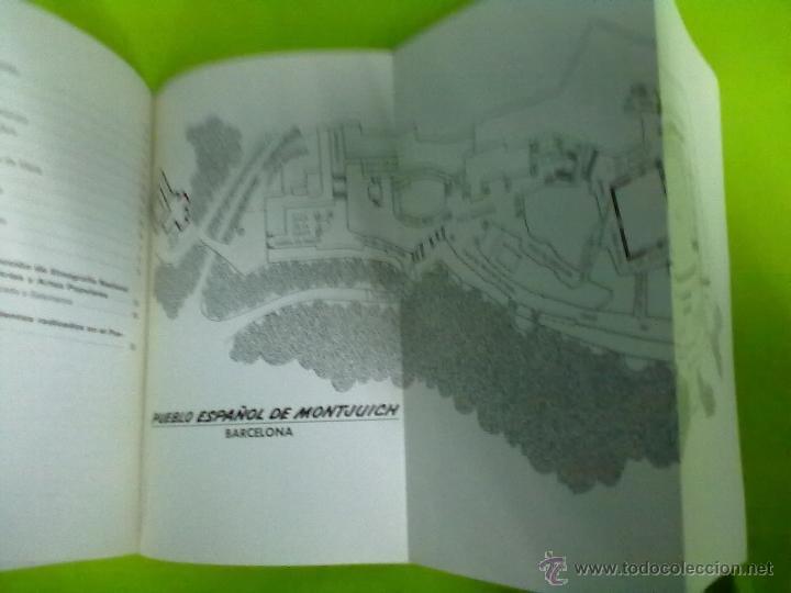 Libros de segunda mano: PUEBLO ESPAÑOL DE MONTJUICH BARCELONA 1965 - Foto 3 - 48491905
