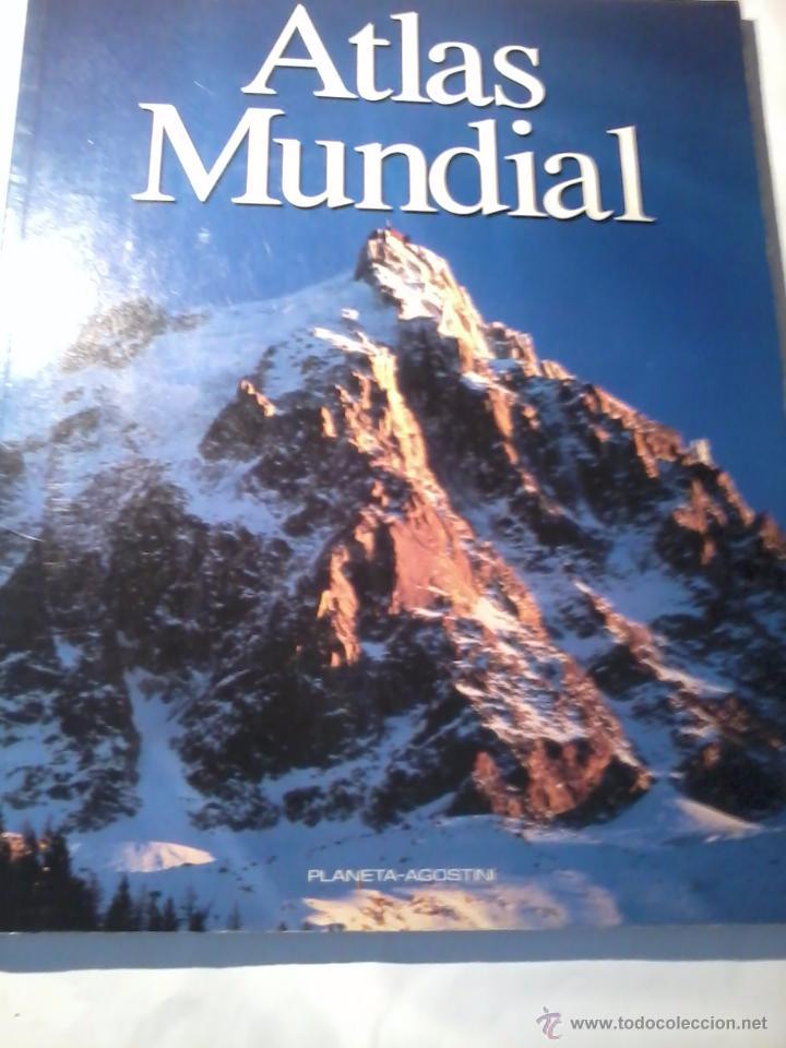 ATLAS MUNDIAL. PLANETA AGOSTINI. EST3B1 (Libros de Segunda Mano - Geografía y Viajes)