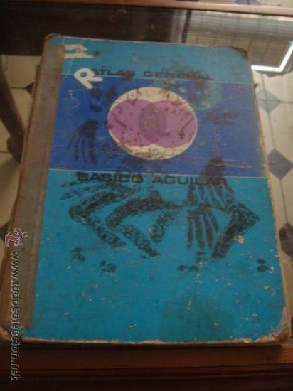 ATLAS GENERAL BASICO AGUILAR, 43ª EDICIONO 1975 (Libros de Segunda Mano - Geografía y Viajes)