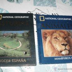 Libros de segunda mano: LIBRO NATIONAL GEOGRAPHIC ,ASTURIAS,ANIMALES TOMO III. Lote 48912300