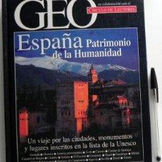 Libros de segunda mano: ESPAÑA PATRIMONIO DE LA HUMANIDAD - GUÍA CIUDADES MONUMENTOS UNESCO -MUY ILUSTRADO - VIAJE GEO LIBRO. Lote 48913637