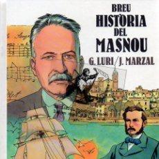 Libros de segunda mano: EKL BREU HISTÒRIA DEL EL MASNOU (BARCELONA) EN COMIC. Lote 49274507