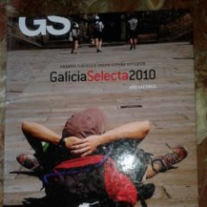 Libros de segunda mano: ANUARIO TURÍSTICO - GALICIA 2010 - AÑO XACOBEO - EN ESTADO IMPECABLE - CON NUMEROSAS LÁMINAS. Lote 49279153