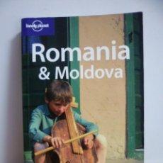Libros de segunda mano: ROMANIA Y MOLDOVA - GUIA TURISTICA EN INGLES. 2007. Lote 49295697