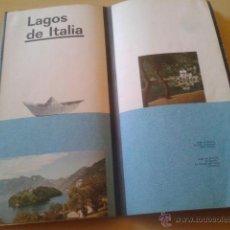 Libros de segunda mano: LAGOS DE ITALIA - 1960 - EDITADO POR EL ORGANISMO OFICIAL DEL ESTADO ITALIANO PARA EL TURISMO. Lote 49437469