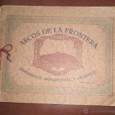 Libros de segunda mano: ARCOS DE LA FRONTERA,CÁDIZ,LIBRO AÑOS 40-50,PERFECTO ESTADO,VISTAS DE LA CIUDAD,ORIGINAL. Lote 61777687