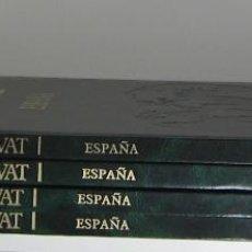 Libros de segunda mano: GRAN ATLAS SALVAT. ESPAÑA 4 TOMOS. 1985. Lote 49787139