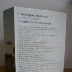 Libros de segunda mano: ESTRATEGIES MULTICAPA NIVELLS 01,02, 03, PROSPECCIONS I PROPOSTES, 2003. Lote 49857167
