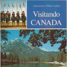 Libros de segunda mano: VISITANDO CANADÁ, JOSEPHINE EARN, EDITORIAL MOLINO BARCELONA 1974, TM 15, VISITANDO OTROS PAÍSES. Lote 60382662