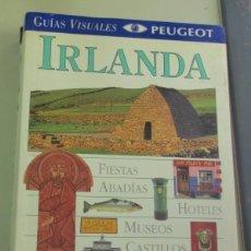 Libros de segunda mano: IRLANDA GUÍAS VISUALES PEUGEOT EL PAÍS AGUILAR AÑO 1996. Lote 98840656
