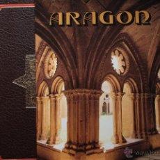 Libros de segunda mano: ARAGÓN. ZARAGOZA, LA SEO, EL PILAR, VERUELA, RUEDA Y PIEDRA, CATEDRALES DE HUESCA Y BARBASTRO, JACA. Lote 50023078