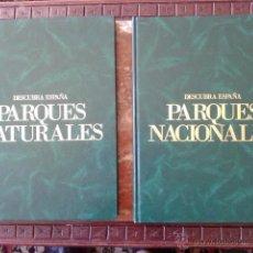 Libros de segunda mano: DESCUBRA ESPAÑA - PARQUES NATURALES - ESPACIOS NATURALES - CLUB INTERNACIONAL DEL LIBRO.. Lote 50445392