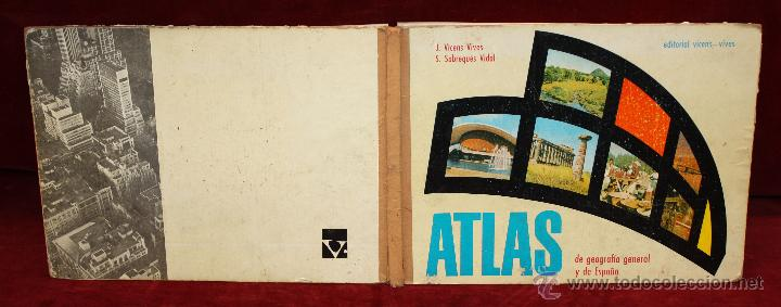 Libros de segunda mano: ATLAS DE GEOGRAFÍA GENERAL Y DE ESPAÑA. ED. VICENS VIVES - Foto 2 - 50487027