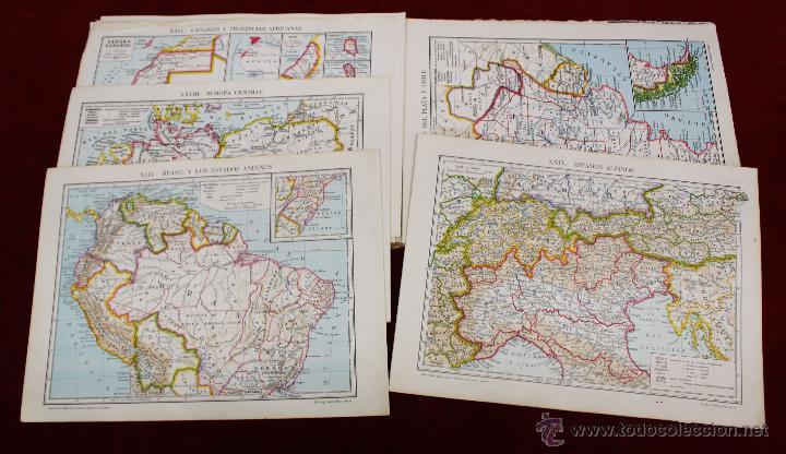 Libros de segunda mano: ATLAS DE GEOGRAFÍA GENERAL Y DE ESPAÑA. ED. VICENS VIVES - Foto 4 - 50487027