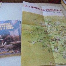 Libros de segunda mano: LA SIERRA DE FRANCIA PASO A PASO-1994-EDICIONES AL PLATÁ-. Lote 50514968
