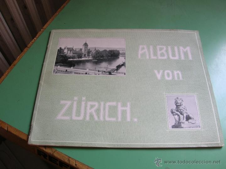 ALBUM VON ZURICH (Libros de Segunda Mano - Geografía y Viajes)