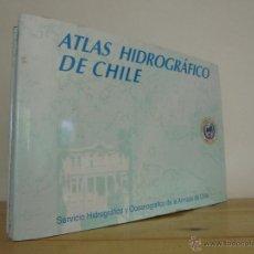 Libros de segunda mano: ATLAS HIDROGRAFICO DE CHILE. SERVICIO HIDROGRAFICO Y OCEANOGRAFICO DE LA ARMADA CHILENA. VER FOTOS.. Lote 50649601