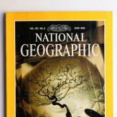 Libros de segunda mano: NATIONAL GEOGRAPHIC - QUIET MIRACLES OF THE BRAIN- JUNE1995. Lote 50701457