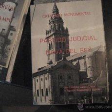 Libros de segunda mano: PARTIDO JUDICIAL DE NAVA DEL REY, GARCIA CHICO , CATALOGO MONUMENTAL VALLADOLID F2. Lote 50867827