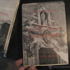 Libros de segunda mano: ANTIGUO PARTIDO JUDICIAL DE VALLADOLID, MARTIN GONZALEZ , CATALOGO MONUMENTAL VALLADOLID F2. Lote 50867848