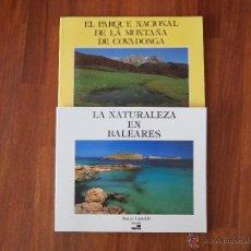 Libros de segunda mano: LOTE LIBROS NATURALEZA EN ESPAÑA (BALEARES Y PARQUE NACIONAL DE COVADONGA). Lote 50931578
