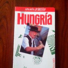 Libros de segunda mano: APAGUIA DE BOLSILLO, HUNGRIA. Lote 51081208