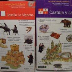 Libros de segunda mano: LOTE GUIAS TURISTICAS DE VIAJE CASTILLA LEON CASTILLA LA MANCHA NUEVAS IMPECABLES. Lote 51194435
