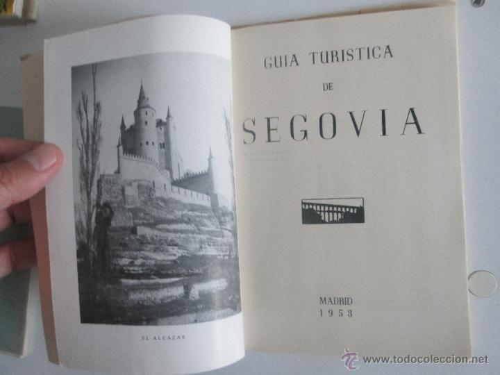 Libros de segunda mano: Guia Turística de Segovia. - Foto 2 - 51806253