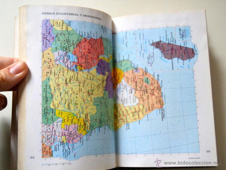 Libros de segunda mano: ATLAS UNIVERSAL EL LIBRO AGUILAR * AÑOS 80 - Foto 4 - 51946623
