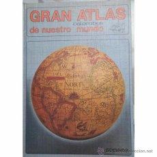 Libros de segunda mano: GRAN ATLAS COLUMBUS DE NUESTRO MUNDO (1982) - SOPENA - ISBN: 9788430308590. Lote 52008497