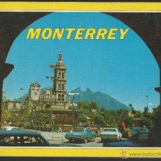 Livres d'occasion: GUIA TURISTICA, FOTOGRAFICA, DE MONTERREY (MEXICO), CON MAPA - AÑOS 70. Lote 52317991