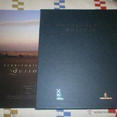 Libros de segunda mano: TERRITORIOS DEL QUIJOTE. IV CENTENARIO CASTILLA-LA MANCHA. LUNWERG EDITORES (2004). Lote 52525755