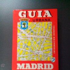 Libros de segunda mano: GUIA URBANA MADRID EDITORIAL PAMIAS. Lote 52536554