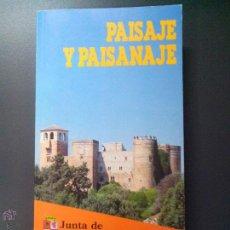 Libros de segunda mano: PAISAJE Y PAISANAJE, JUNTA DE CASTILLA Y LEON,. Lote 52586151