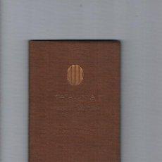 Libros de segunda mano: CATALUNYA MAPAS DE CARRETERAS UTILGRAF 1972 ANTIGUO. Lote 53018697