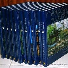 Libros de segunda mano: PATRIMONIO MUNDIAL DE LA HUMANIDAD 10T POR EDICIONES RUEDA EN MADRID 2002. Lote 53022871