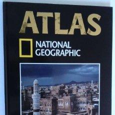 Libros de segunda mano: ATLAS NATIONAL GEOGRÁFIC NÚM 4 ASIA I RBA COLECCIONABLES 2004 QATAR ARABIA SAUDÍ JERUSALÉN YEMEN. Lote 233642715
