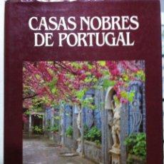 Libros de segunda mano: MARCUS BINNEY. CASAS NOBRES DE PORTUGAL. 1987. Lote 53139464