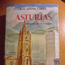 Libros de segunda mano: ASTURIAS. BIOGRAFIA DE UNA REGION. JUAN ANTONIO CABEZAS. ESPASA-CALPE. SEGUNDA EDICION, REVISADA Y A. Lote 53453130