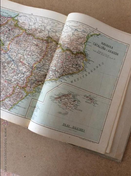 Libros de segunda mano: ATLAS GEOGRÁFICO UNIVERSAL - Foto 2 - 53462763