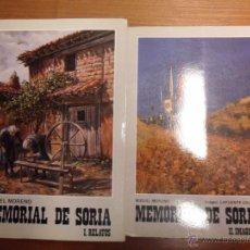 Libros de segunda mano - Memorial de Soria. 2 Tomos. Miguel Moreno. 1985 - 53644216