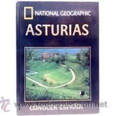 Libros de segunda mano: LIBRO NATIONAL GEOGRAPHIC,CONOCER ESPAÑA,ASTURIAS,N 3. Lote 53674633