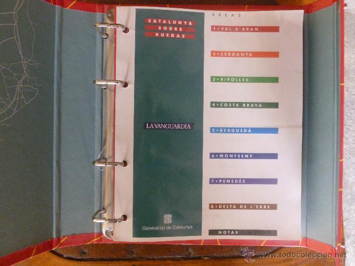 Libros de segunda mano: CATALUNYA SOBRE RUEDAS - Foto 2 - 53819436